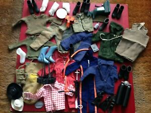 A Collection of Vintage Palitoy Action Man Clothing & Accessories