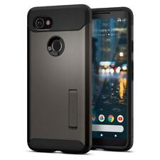 Google Pixel 2 XL Case Genuine Spigen Slim Armor Heavy Duty Cover for Google Gunmetal