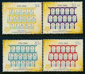 2005 FIJI 50 YEARS OF EUROPA SET OF 4 FINE MINT MNH