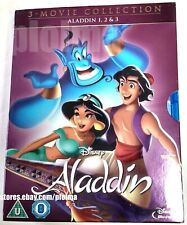 ALADDIN 3-Movie Collection New BLU-RAY Set 1-3 Trilogy Return of Jafar 1 2 3