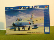 1/144 SCALE F-86F-40-NA SABRE MODEL PLANE BY TRUPETER