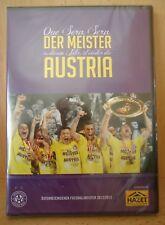 DVD Der Meister Austria Wien 2012/13 mit Portrait Stöger Holland Hosiner # NEU