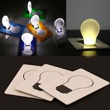 Portable Wallet Credit Card Light Torch Led Flip Portable Purse Light Bulb Gift