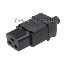 1 x IEC320 C19 Female Power Cable Cord Connector Female Receptacle Socket