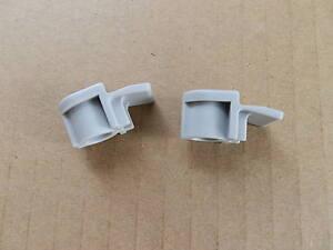 2 x Hotpoint Washing Machine Tumble Dryer Door Glass Retaining Clips C00095635