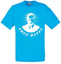 Free Bates, Downton Abbey Inspired Men's Printed T-Shirts 100% Cotton t shirt