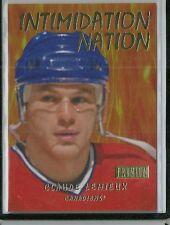 "2012/13 Fleer Retro Hockey Claude Lemieux ""Intimidation Nation"" Insert Card"