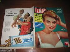 RIVISTA TEMPO 1956/11=SANDRA MILO=JUAN PERON=LA CINA=DIANE CILENTO=PATTI LEWIS=