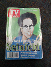 TV Guide A Found Farewell To Seinfeld - 1 of 4 Collectors' Covers -May 9-15 1998