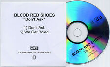BLOOD RED SHOES Don't Ask 2010 UK 2-track promo test CD