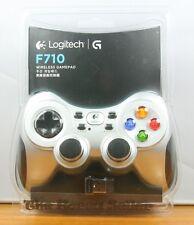 NEW Logitech WIRELESS GAMEPAD F710 -Dual Vibration Computer PC Gaming Controller
