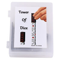 Tower of Dice Magic Tricks Dice Increase Close Up Stage Magic Props TolyJ Jf
