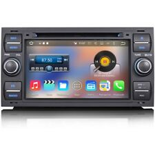 "7"" Android 6 SatNav GPS WiFi DVD Head Unit RDS DAB Radio Stereo For Ford 6000 CD"