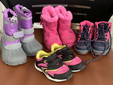 Baby Girl Toddler OshKosh Minnie Mouse Sporto Boots Shoes Lot Of 4 Pairs Size 5