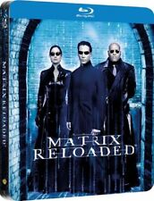 The Matrix Reloaded - Limited Edition Steelbook Blu-ray [2015] [Region Free]