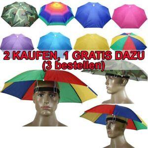 Sonnenschirm Hut Unisex Regenschirm Kappe Kopfbedeckung Anglerhut Sonnenhut'
