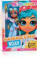 Hairdorables Hairmazing NOAH Fashion Doll Poseable w 6 Surprises