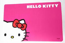 Hello Kitty Small Pet Puppy Kitten Bright Pink Fuchsia Bowl Feeding Mat G139 New