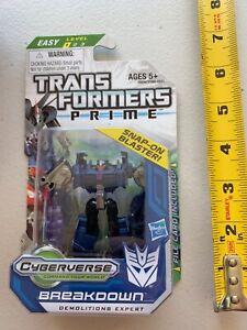 Transformers Prime Animated - BREAKDOWN - Legion Class - New Sealed  -00400