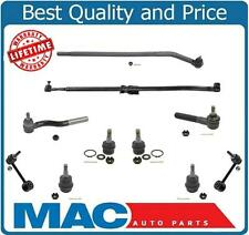 Fits 07-16 Wrangler Ball Joints Tie Rod  Arm To Steering Assembly Front 10Pc Kit