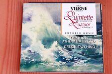 Louis Vierne - Quintette piano op 42 Quatuor op 12 - Tacchino - CD Pierre Verany