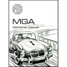 MG MGA Workshop Manuale 1500 1600 1600 MK II BOOK LIBRO