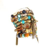 Modeschmuck-Armbänder im Armreif-Stil mit Kristall-Perlen