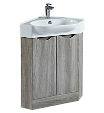 Corner vanity bathroom suites for sale ebay - Corner bathroom vanities for sale ...