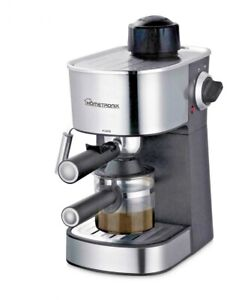 HomeTronix 4 Bar Coffee Maker Machine Espresso Latte Cappuccino Stainless Steel