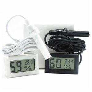 Mini LCD Digital Incubator Egg Hatching Sensor Humidity Hygrometer Meter NEW