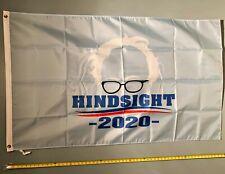 JOE BIDEN FLAG *FREE SHIP USA SELLER!* Bernie Sanders Hindsight Poster Sign 3x5'