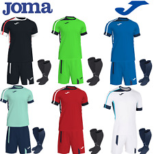 31f0f08f5a4 JOMA FOOTBALL FULL TEAM KIT MATCHING KITS FOR MEN KIDS BOYS TEAMWEAR STRIPS  NEW