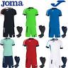 JOMA FOOTBALL FULL TEAM KIT MATCHING KITS FOR MEN KIDS BOYS TEAMWEAR STRIPS NEW
