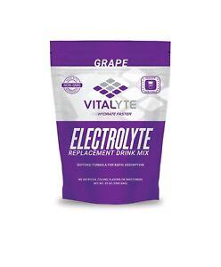 Vitalyte Electrolyte Powder Sports Drink Mix, 40 Servings - Grape SHIPS FAST!