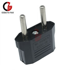 5Pcs US/USA to European Euro EU Travel Charger Adapter Plug Outlet Converter