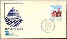 Argentina 1985 centenario de Río Gallegos FDC Primer Día Cubierta #C43408