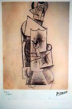 PABLO PICASSO  - Litografia papel arches. 250 ejemplares.38 X 29 cm.  SPADEM