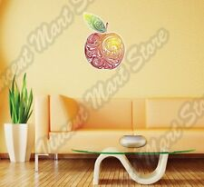 """Red Apple Abstract Art Design Colorful Wall Sticker Room Interior Decor 22""""X22"""""""