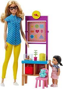Barbie Teacher Doll And Playset