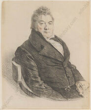 "Traugott Georgi (1783-1838) ""Male Portrait"", drawing, early 19th century"