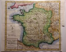 Antique Map of France by De L'Isle 1740