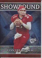 2002 Press Pass Showbound #SB1 David Carr