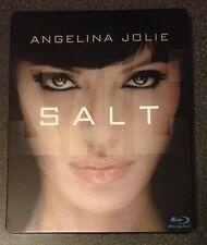 SALT Blu-Ray SteelBook German Exclusive Region Free 2 Unrated Extended Cuts Rare