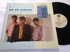 Gang of 4 - Is It Love Extended Dance Remix PROMO 2-Cut Maxi Single LP