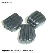 Rubber Feet for SINGLE BRACED Drum Hardware / Cymbal Stands (Set 3) 002-101-134