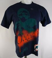 Miami Dolphins NFL Junk Food Men's Navy Blue Tie-Dye Short Sleeve T-Shirt