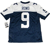 TONY ROMO AUTOGRAPHED SIGNED DALLAS COWBOYS NIKE LIMITED THANKSGIVING JERSEY JSA