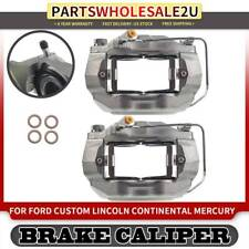 2Pcs Brake Calipers FrontLeft & Right for Ford LTD Lincoln Continental Mercury