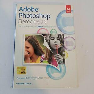 Adobe Photoshop Elements 10 - NEW SEALED
