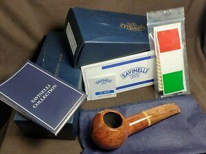 Savinelli Dolomiti 320 KS estate briar smoking pipe